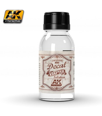 AK-582 DECAL ADAPTER SOLUTION 100 ml - Auxiliary Products