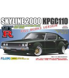 1:24 ID-136 KPGC110 Skyline GT-R Full Works