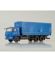 KAMAZ-65117 (DAF-65117 new) Restyling - Blue
