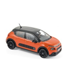 Citroen C3 2016 - Power Orange & Black Roof