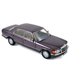 Mercedes-Benz 560 SEL 1991 - Purple Metallic