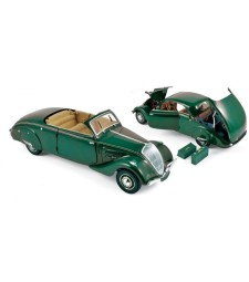 Peugeot 402 Eclipse 1937 - Dark Green