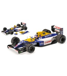 WILLIAMS RENAULT FW14B - NIGEL MANSELL - WORLD CHAMPION - 1992