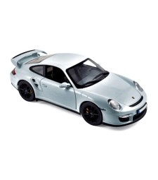 Porsche 911 GT2 2007 - Silver with black wheels
