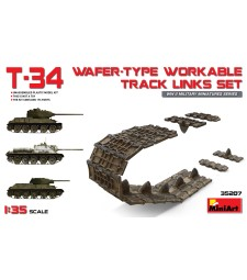 1:35 T-34 Wafer-Type Workable Track Links Set