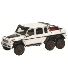 Brabus B63 S700 6x6, white L. E. : 500 pieces