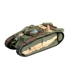 1:72 Френски танк Би Бис СН 337 (French Bi Bis Tank SN 337 EURE, May 1940,France 3e DCR) Char de Bataille