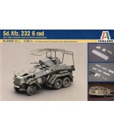1:35 SD.KFZ.232 6 RAD HI-DETAILS + Resin parts