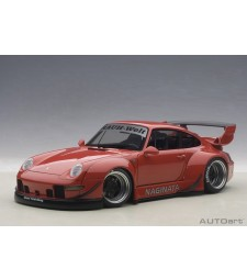 PORSCHE 993 RWB (RED/GUN GREY WHEELS)