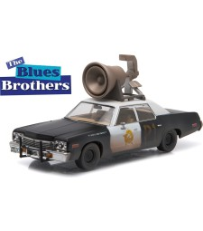 "Hollywood - Blues Brothers (1980) - 1974 Dodge Monaco ""Bluesmobile"" with Horn on Roof"