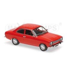 FORD ESCORT I LHD - 1968 - RED  - MAXICHAMPS