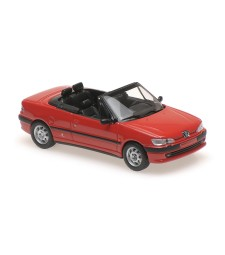 PEUGEOT 306 CABRIOLET - 1998 - RED - MAXICHAMPS