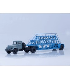 MAZ-200V with panel-carrying trailer NAMI-790
