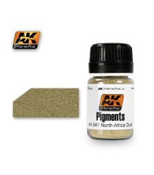 AK-041 NORTH AFRICA DUST  (35 ml) - Пигмент