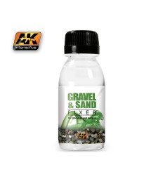 AK-118 GRAVEL & SAND FIXER (100 ml) - Помощен продукт