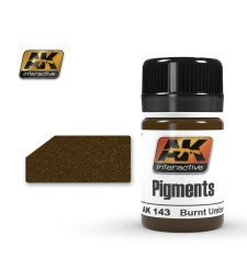 AK-143 BURNT UMBER  (35 ml) - Пигмент