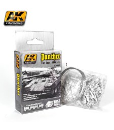 AK-682 1:35 PANTHER TANK TRACK LATE TYPE 1944-45 - Вериги за танк