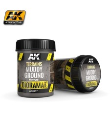 AK-8017 Terrains Muddy Ground 250ml