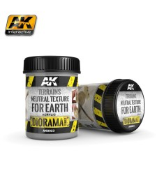 AK-8023 Terrains Neutral Texture for Earth 250ml
