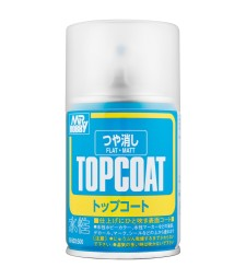 B-503 Матов лак Mr. Top Coat Flat Spray (86 ml)