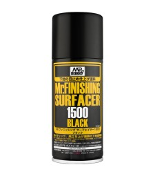 B-526 Спрей-грунд 1500 - черен Mr. Finishing Surfacer 1500 Black 170 ml