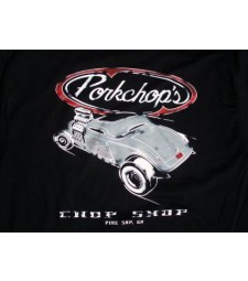 Тениска Pork Chop Hot Rod T Black - Large