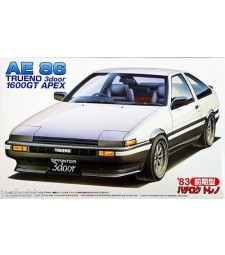 1:24 Inch Up Series ID-52 Sprinter Trueno (AE86) 1600GT APEX Early Version