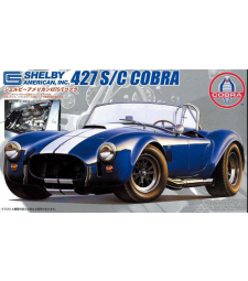 1:24 Cobra 427SC (with engine model)