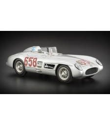 MERCEDES BENZ 300 SLR MILLE MIGLIA 1955 #658 FANGIO Limited Edition 2000 pcs.