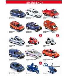 EMERGENCY CAR NOREV DIE-CAST - 1 бр.