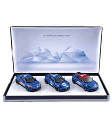 Coffret Alpine Celebration 2015 - L.E. 500 pcs (3 cars)