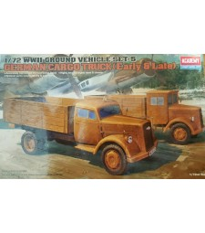 1:72 GERMAN CARGO TRUCK (early or late)