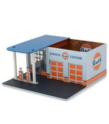 Mechanic's Corner Series 1 Assortment - Vintage Gas Station Gulf Oil Solid Pack