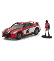 2015 Nissan GT-R with Race Car Driver Solid Pack - The Hobby Shop Series 1