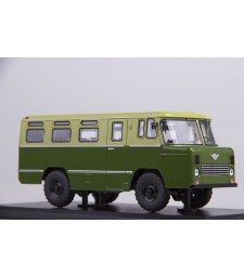 Soviet army bus AS-38 (green-khaki)