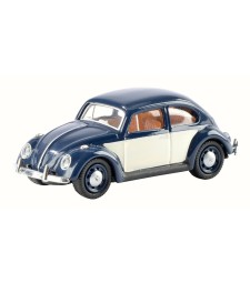 VW Beetle - Blue & White