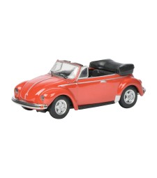 VW Beetle Cabrio - Red