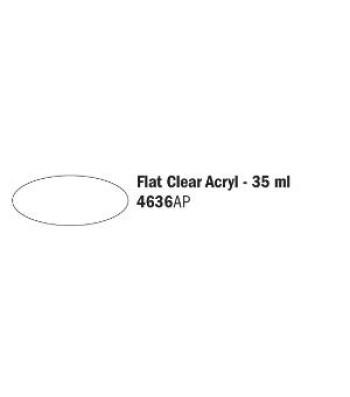 Flat Clear Acryl - Акрилна боя за моделизъм (35 ml)
