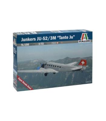 1:72 Германски транспортен самолет Юнкерс Ю-52 Сивилиън (JUNKERS JU-52 CIVILIAN)