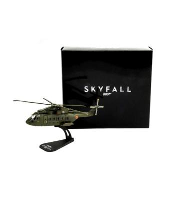 1:100 AW 101 SKYFALL - Die Cast Model