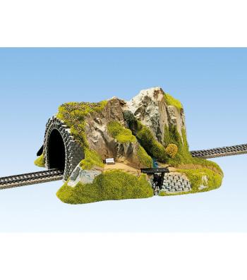 Прав тунел, единична релса, 34 х 27  cm