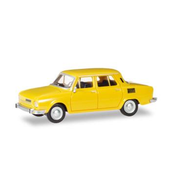Skoda 110 L, honey yellow
