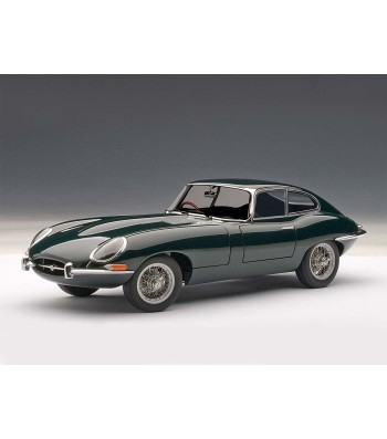 Jaguar E-Type Coupe Series I 3.8 (green) 1961 (with metal wire spoke wheels) 1961