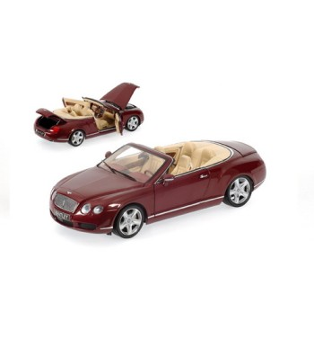 BENTLEY CONTINENTAL GTC - 2006 - RED METALLIC