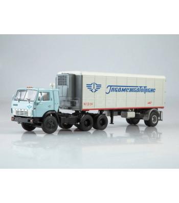 "KAMAZ-54112 tractor truck with semitrailer Alka-N13CH ""GlavMezAvtotrans"""