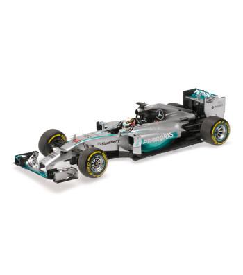 MERCEDES AMG PETRONAS F1 TEAM W05 - LEWIS HAMILTON - WINNER ABU DHABI GP 2014