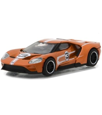 Ford GT 1967 #3 Ford GT40 Mk.IV Tribute Solid Pack - Ford GT Racing Heritage Series 1