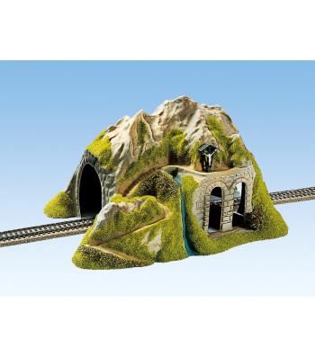 Тунел за единична релса, прав, 34x26cm, 16cm висок