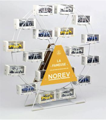 Roue blanche NOREV - Présentoir / Display / Aufsteller