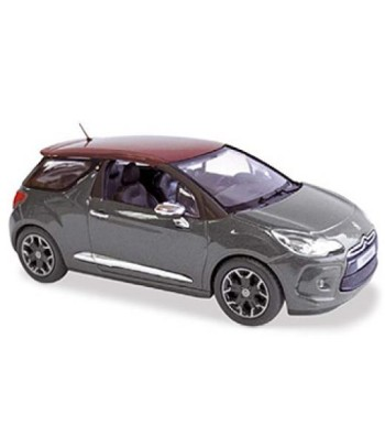 Citroen DS3 2010 Grey with red roof